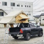 2019GW_ 陸路で鹿児島ハイラックス ルーフトップテントの旅_day1