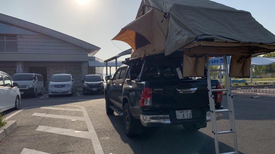 2019GW_ 陸路で鹿児島ハイラックス ルーフトップテントの旅_day8